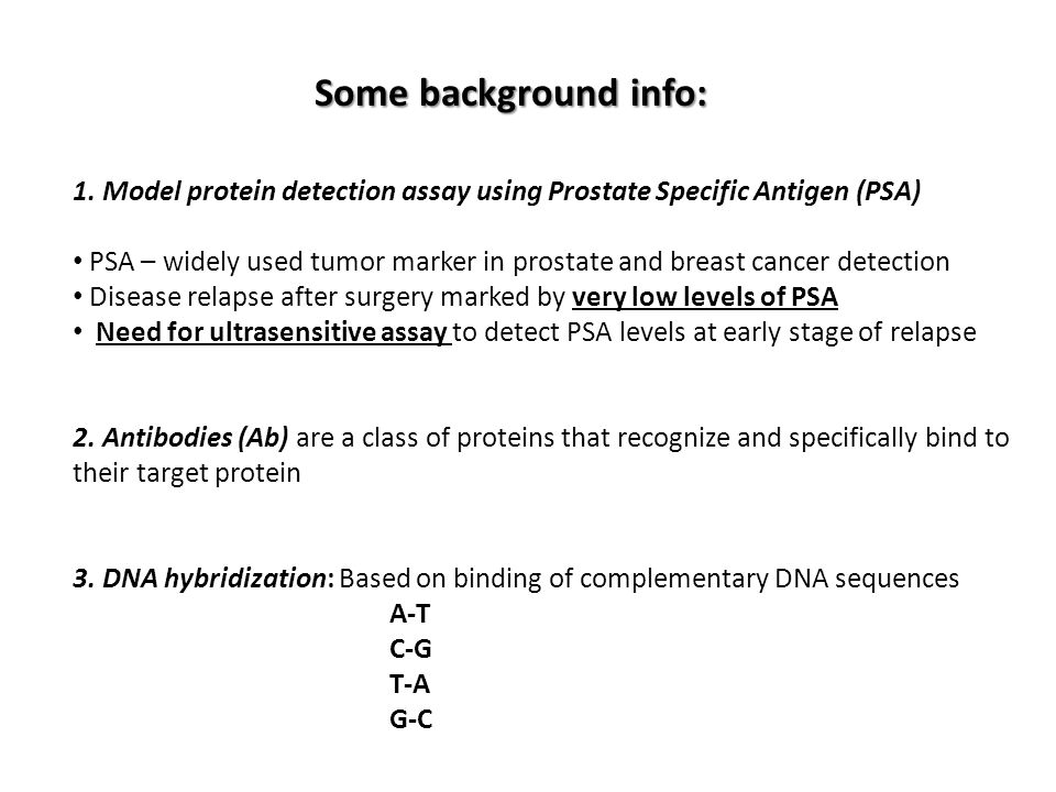 the history and background information of psa