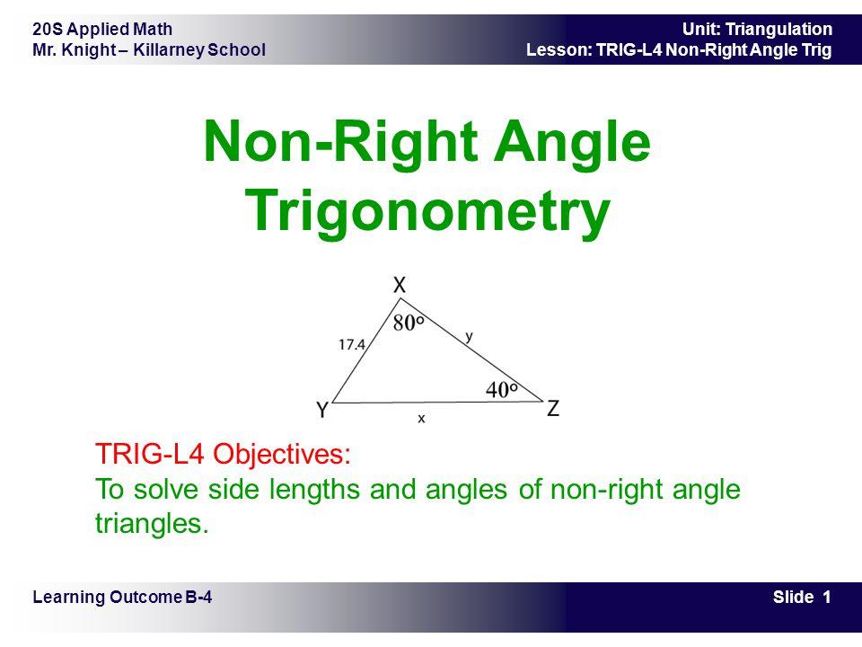 math worksheet : non right angle trig worksheets  worksheets for education : Applied Math Worksheets