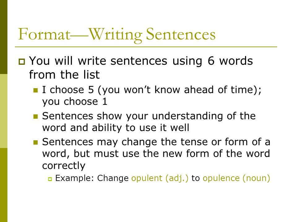 Write my format of writing a speech