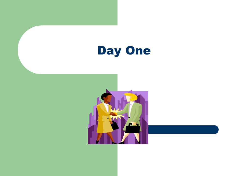 Agenda – Day One Welcome Getting Started Activity Course Objectives Overview of Facilitation Skills Facilitation Skills Practice Lunch!!!.