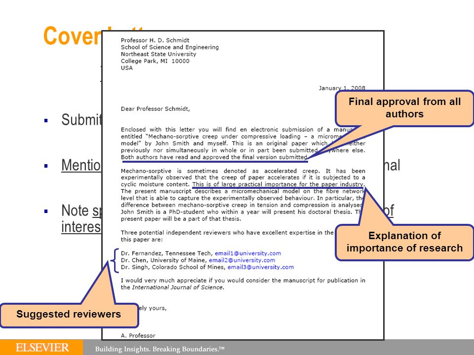 how important is the cover letter when submitting an article to a apptiled com unique app - How Important Is A Cover Letter