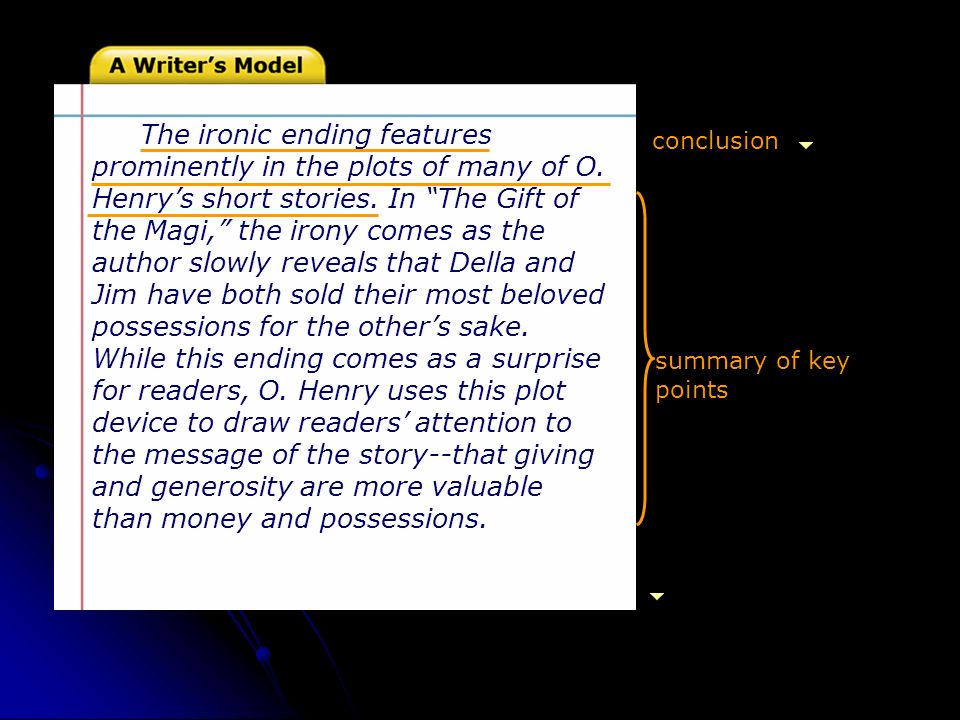 gift of the magi irony essay