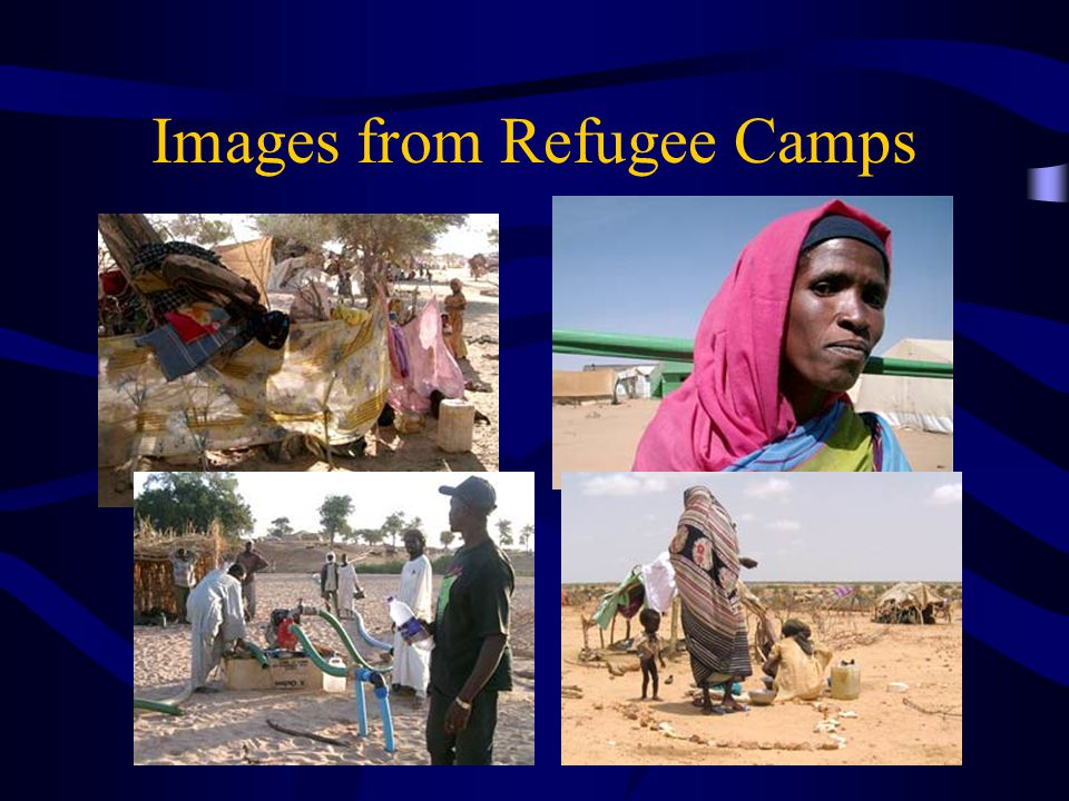 Images from Refugee Camps