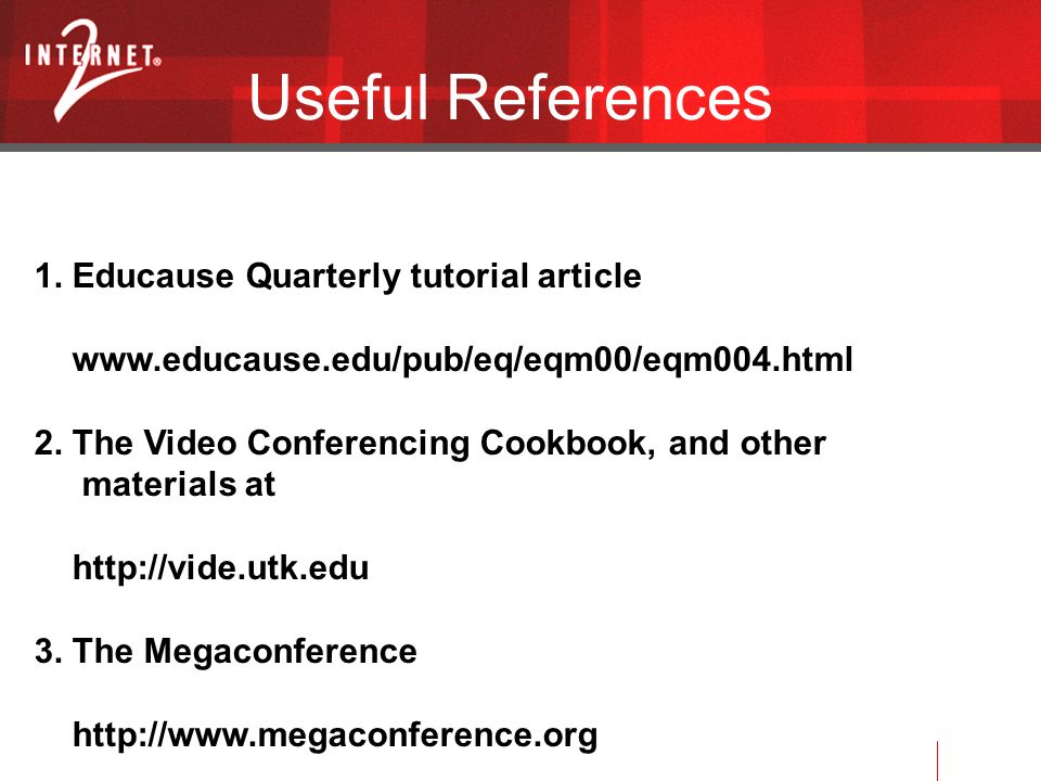 Useful References 1.