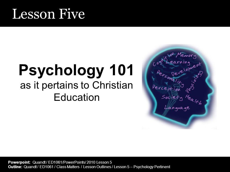 phsycology 101