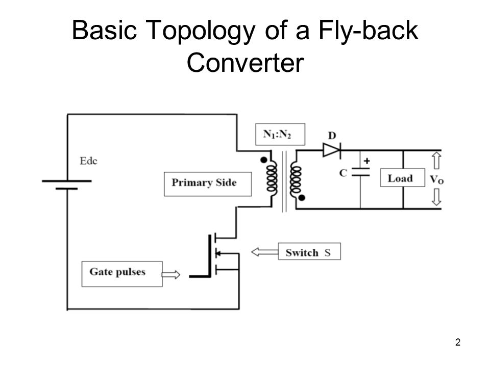 2 Basic Topology of a Fly-back Converter