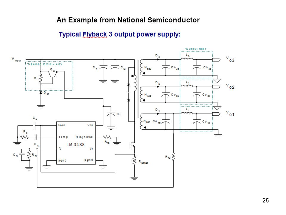 25 An Example from National Semiconductor