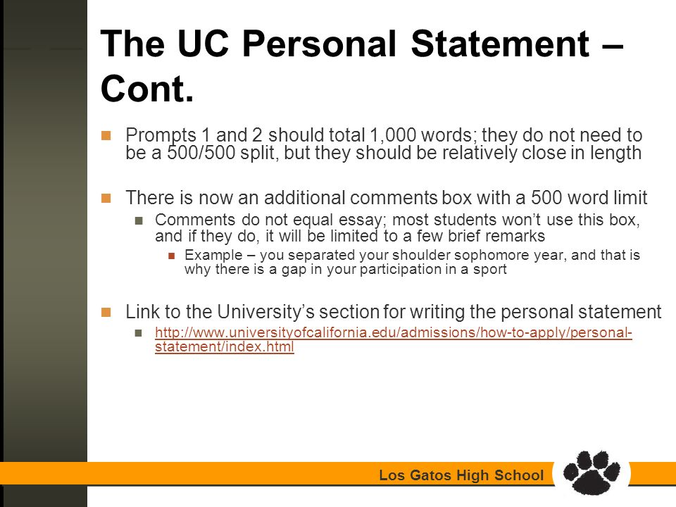 uc admission essays prompt