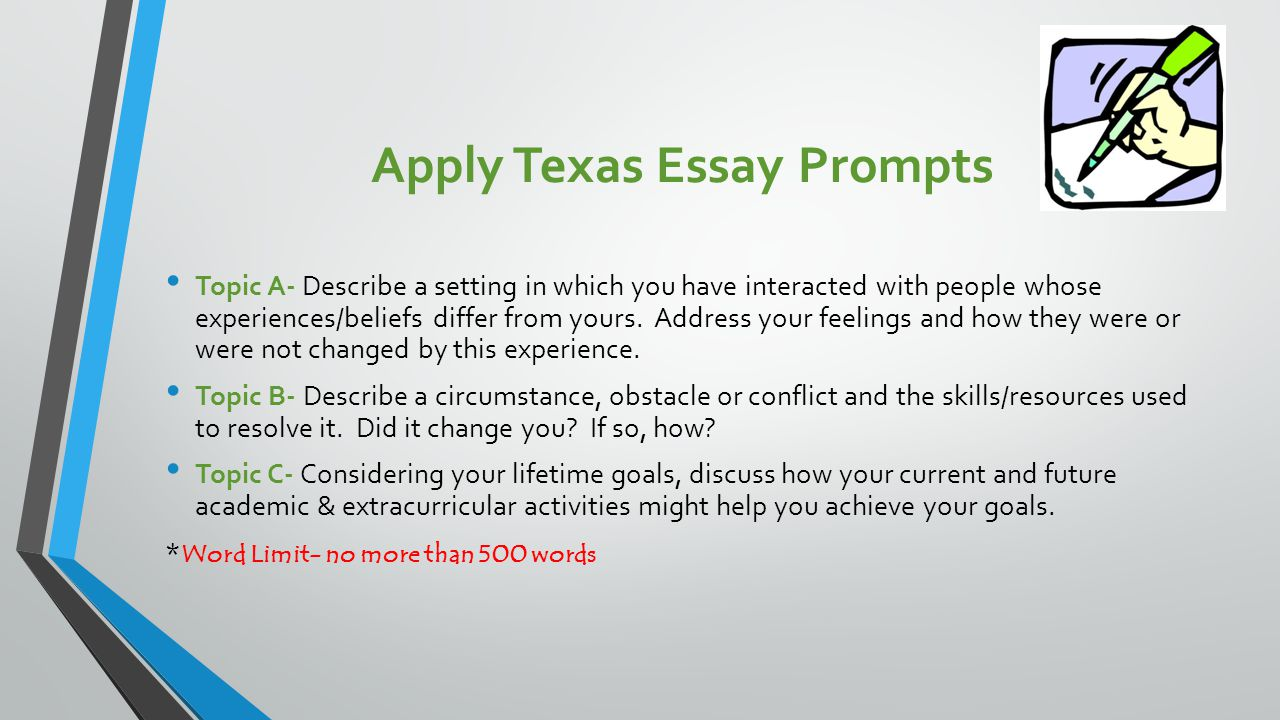 texas common app essay prompts If your a first generation like me and you don't know where to start, i hope you can get a head start on these essay prompts like:  .