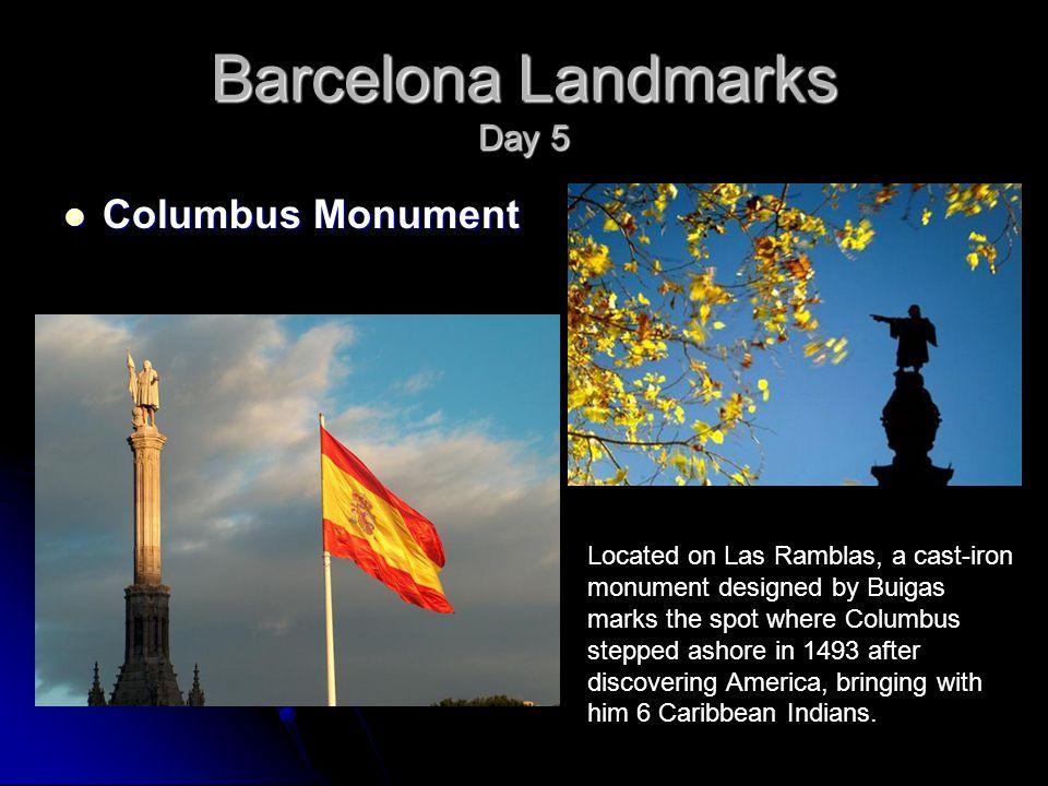 columbus monument barcelona (eind ramblas)