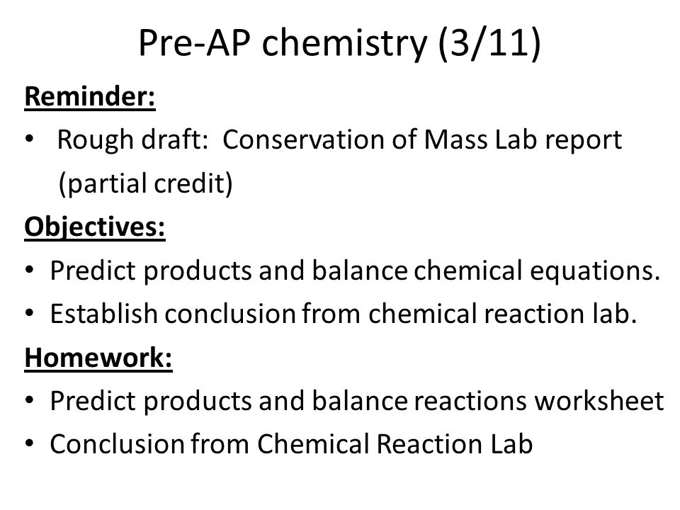 Chemical Reactions Chemical Reactions Study Guide Chpt 94 Acids – Six Types of Chemical Reaction Worksheet Answers