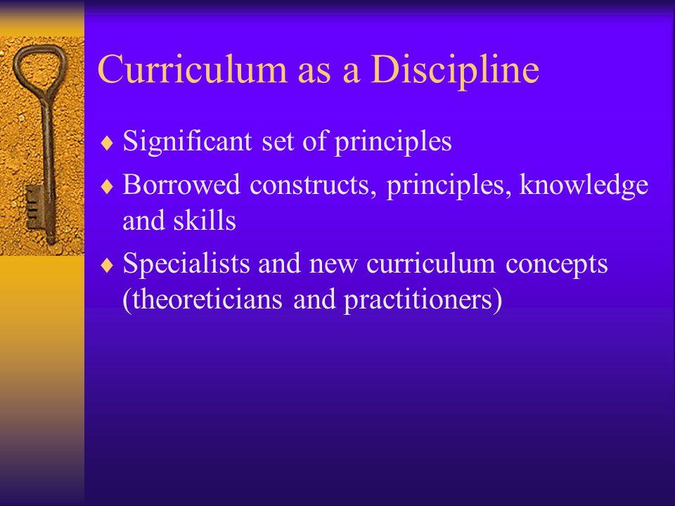 Principles of Curriculum Development Chapter 2