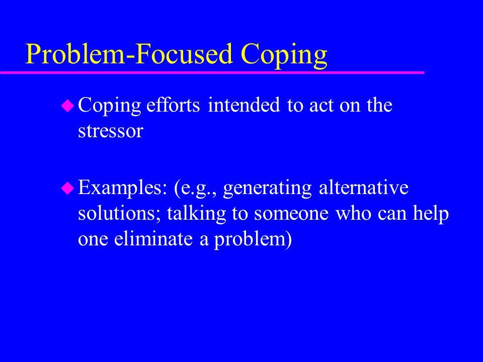 What Is Stress U A Physiological Response U Particular Emotions U