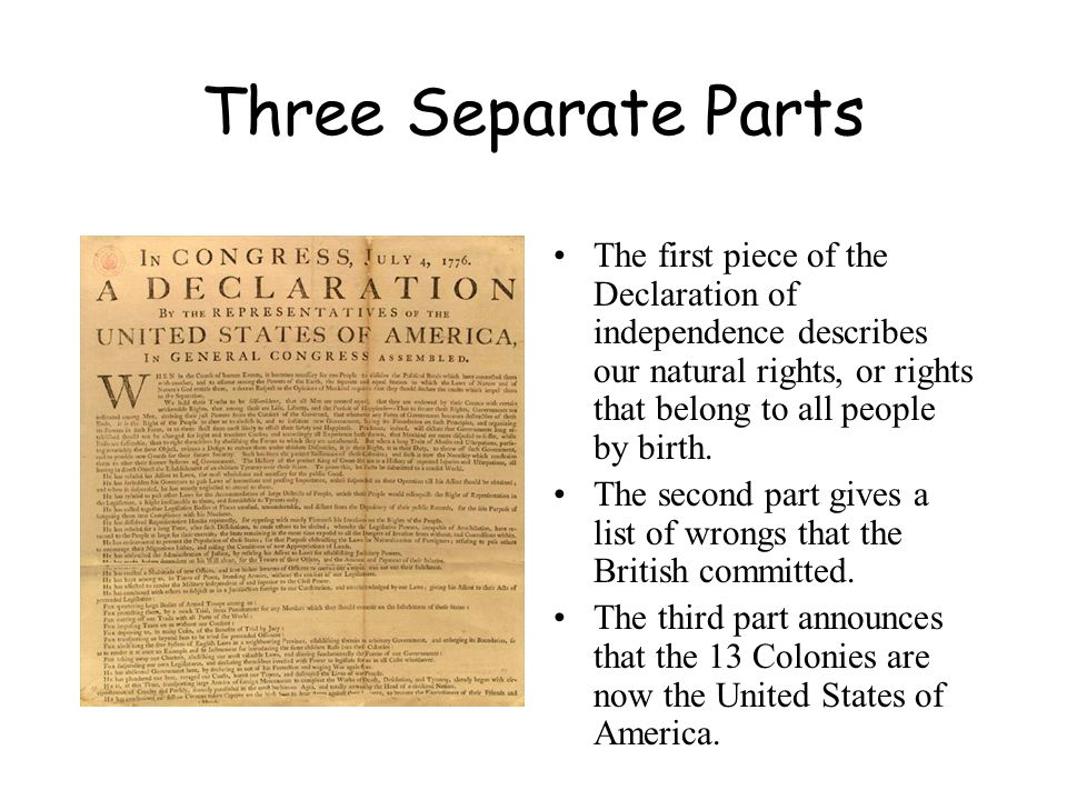 the citizens right to life as stipulated in the declaration of independence What rights does the declaration of independence express a human rights of citizens, including life and liberty b the right to remain silent when interrogated by police c legal rights of citizens d.