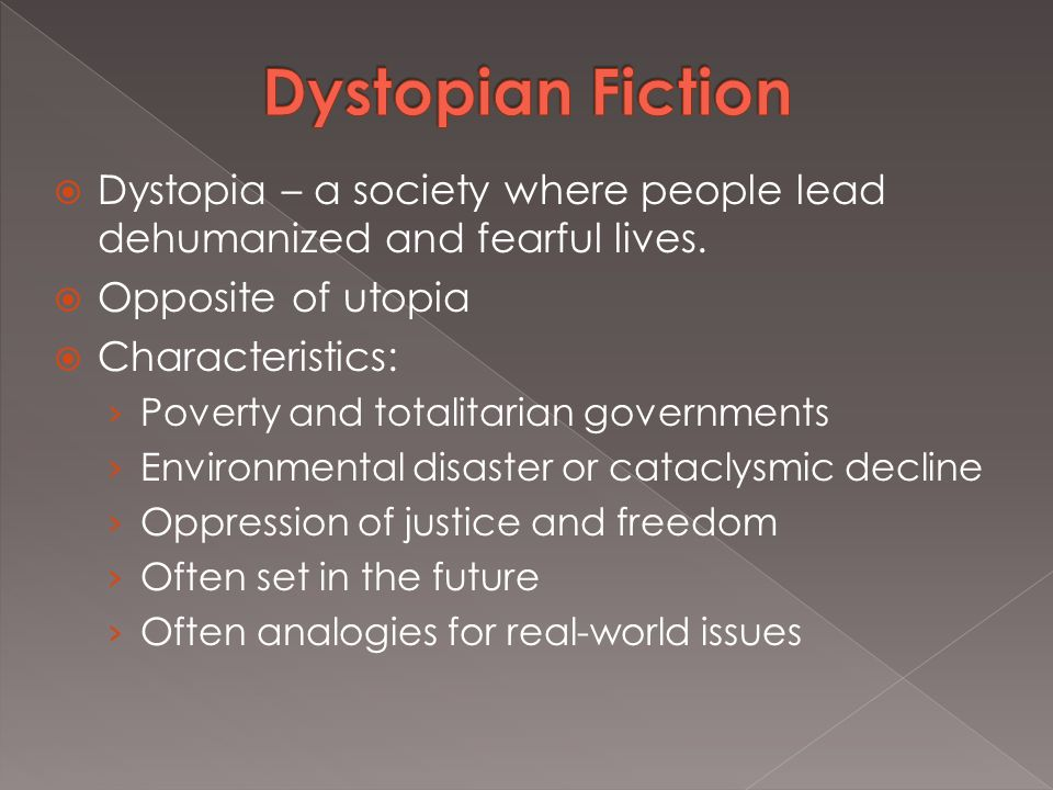 published in  dystopia a society where people lead  5  dystopia