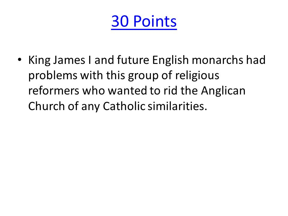 20 Points The belief that monarchs are given their right to rule by God.