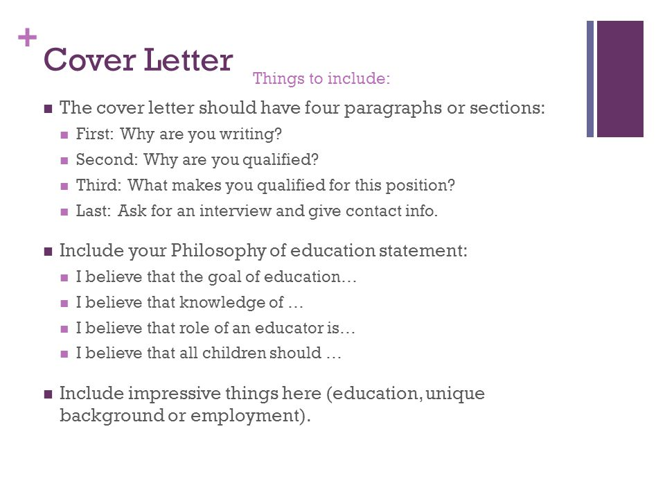 Cover Letter For Human Resources Internship