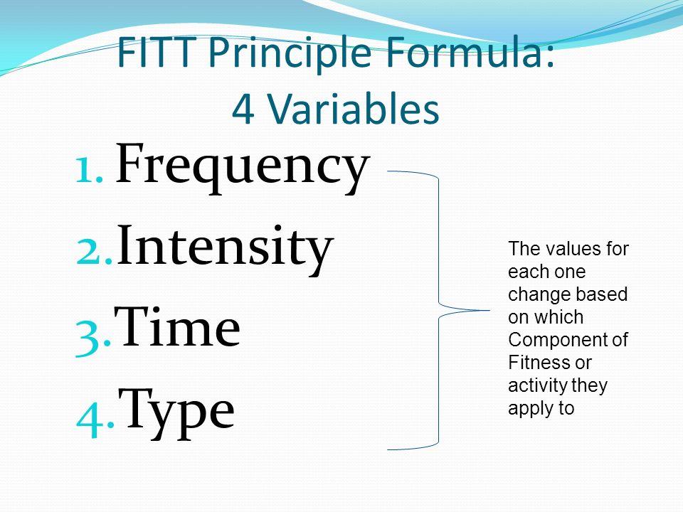 Worksheets Fitt Principle Worksheet 8 th grade health week 3 f i t principle back ppt download fitt formula 4 variables 1 frequency 2 intensity time 4