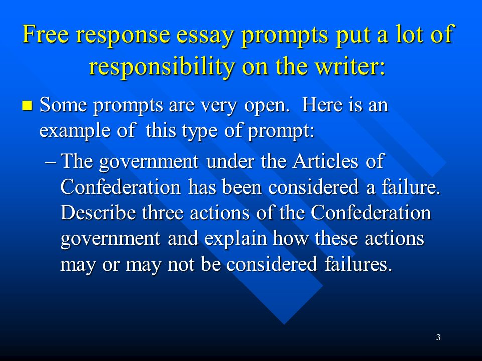 responce essays Reading critically not about finding fault with author rather engaging author in a discussion by asking questions as you read an article or essay.