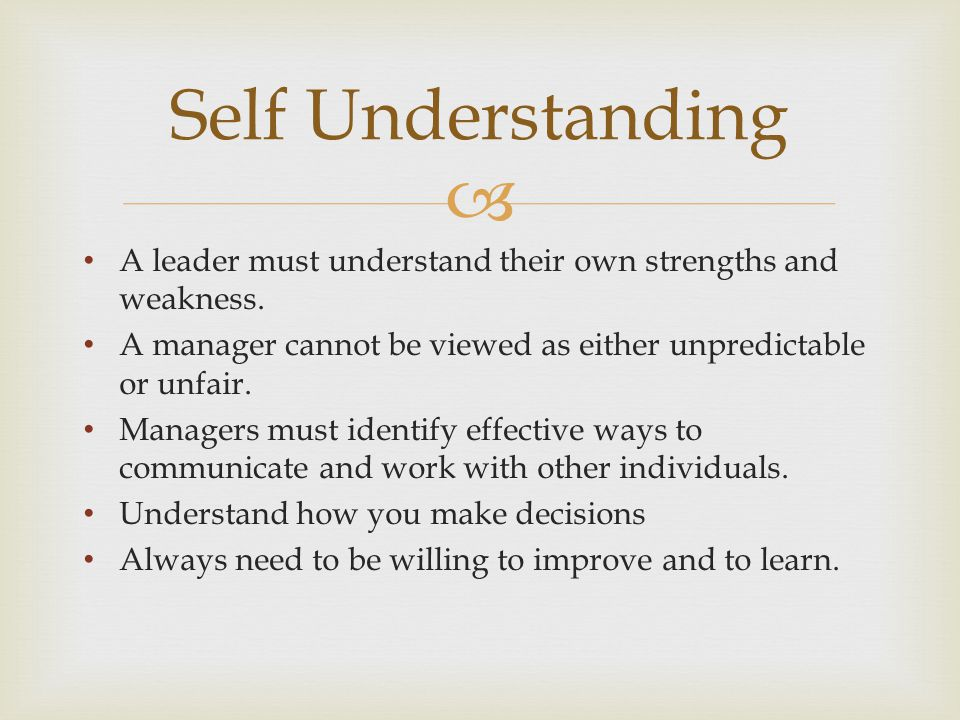  Leaders recognize that people in a business of ten have more things alike than different.