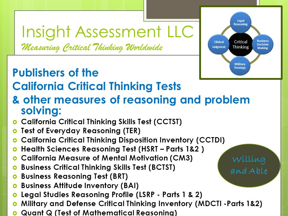 critical thinking abilities and dispositions A taxonomy of critical thinking dispositions and abilities in teaching thinking skills: theory and practice eds joan boykoff baron and robert j sternberg freeman, 1987 freeman, 1987 back to pgcc annotated list of documents.
