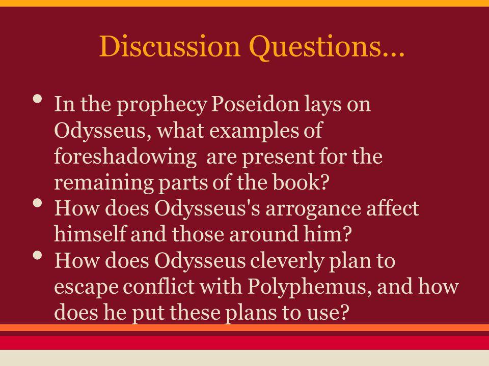 Odyssey essay questions for book GradeSaver