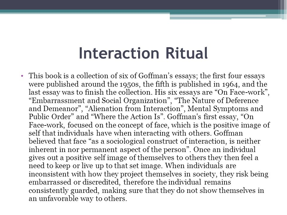 goffman traits What is total institution what does total institution mean total institution meaning - total institution definition - total institution.