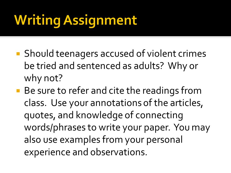 I need a little direction on writing a cause and effect essay my topic is teen violence?