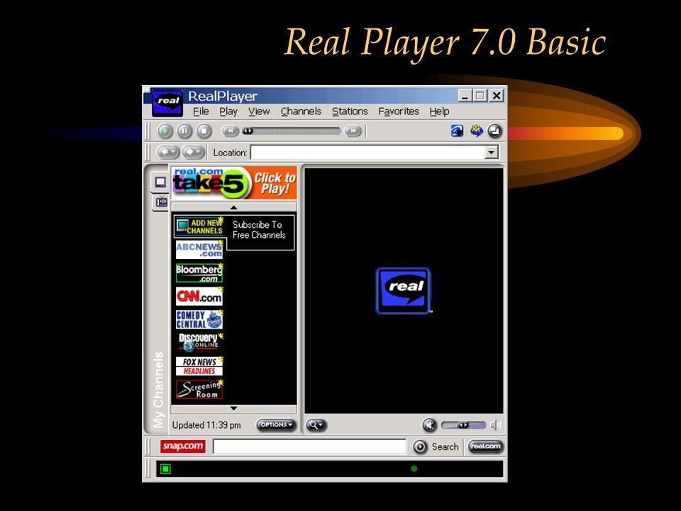 Real Player 7.0 Basic
