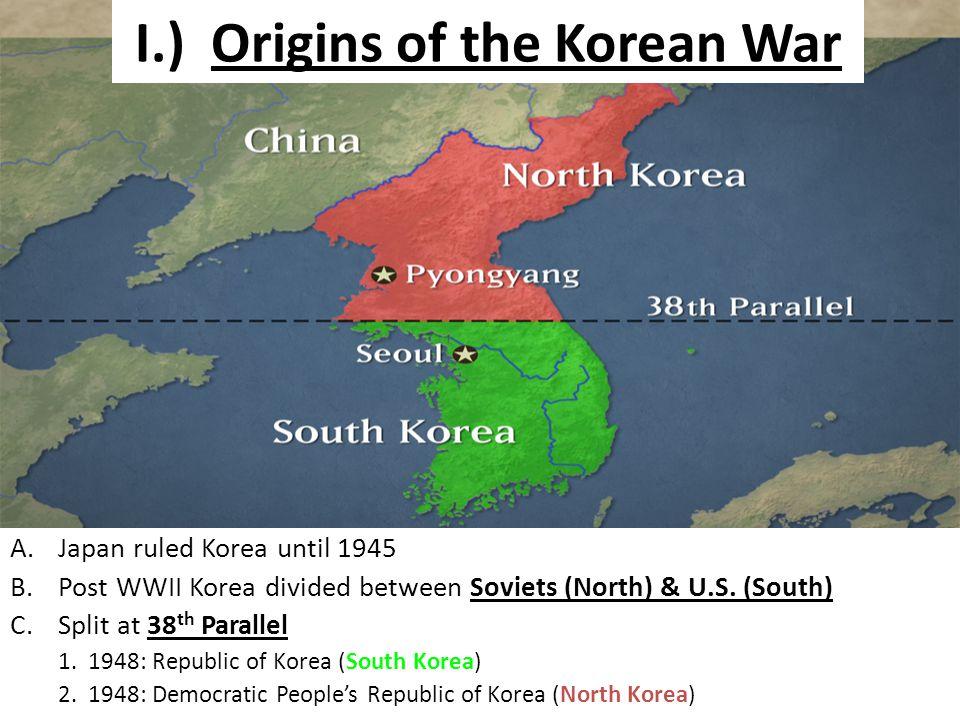 Chapter 18 section 2 i origins of the korean war ajapan ruled 2 i origins of the korean war gumiabroncs Images