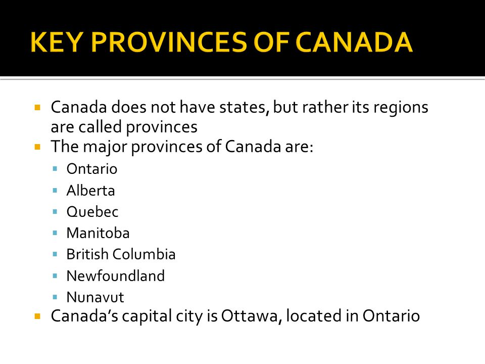 What is a list of natural resources in Canada?