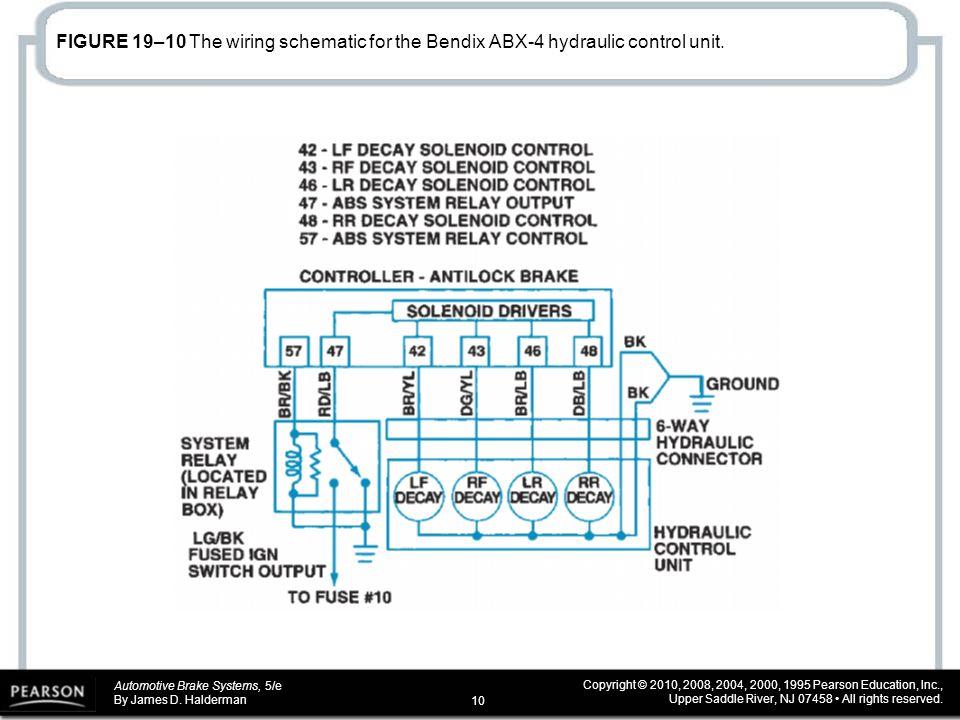 automotive brake systems, 5 e by james d halderman copyright Bendix Wiring Diagrams Bendix Wiring Diagrams #69 bendix wiring diagrams