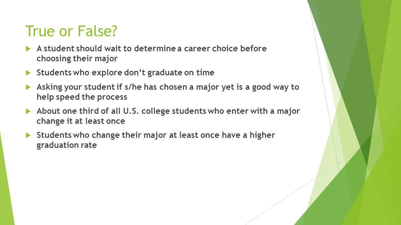 help choosing a major
