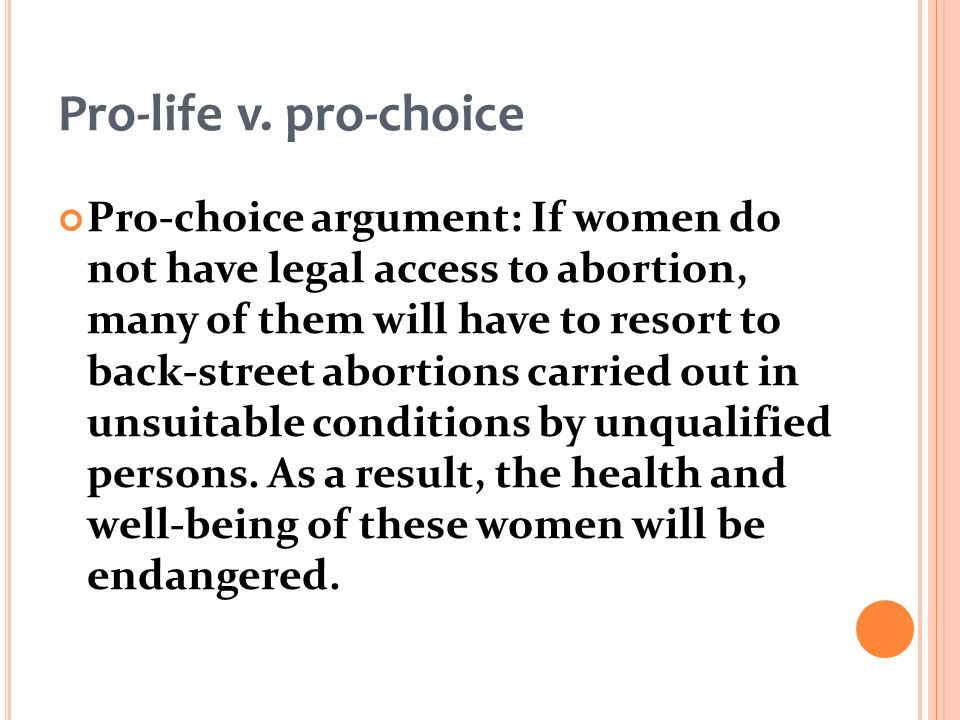 Persuasive Abortion Essays