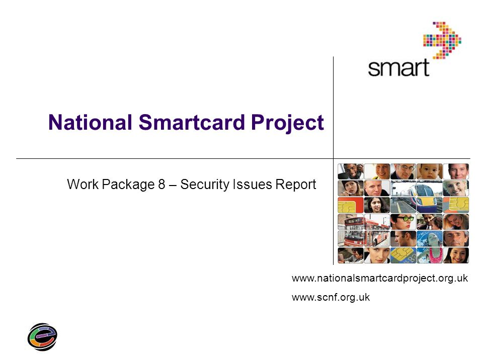 National Smartcard Project Work Package 8 – Security Issues Report