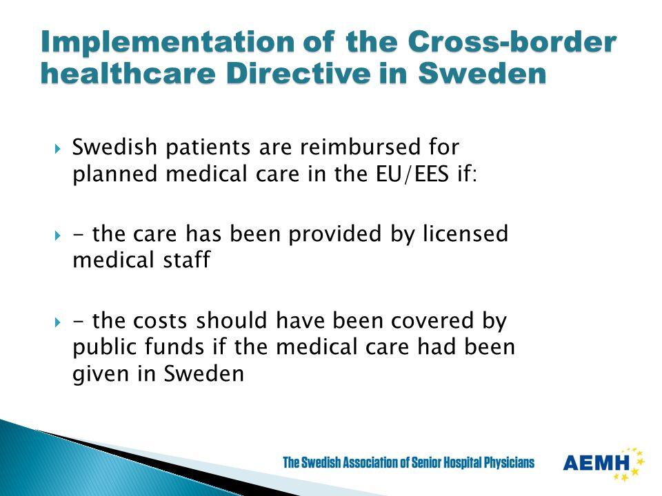 sweden medical care