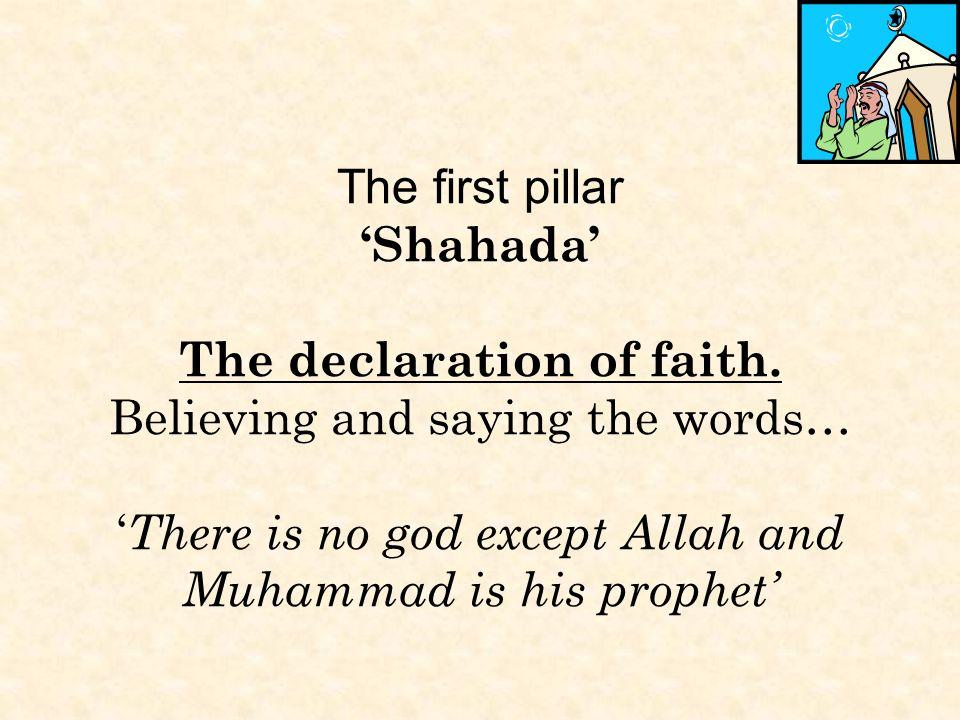 The Five Pillars of Islam Faith Prayer Charity Fasting Pilgrimage ...