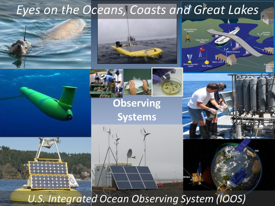 Observing Systems Eyes on the Oceans, Coasts and Great Lakes U.S.
