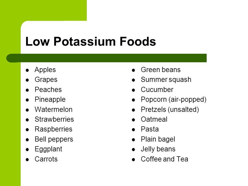 What Do You Know About Potassium?. What is Potassium? Potassium is ...