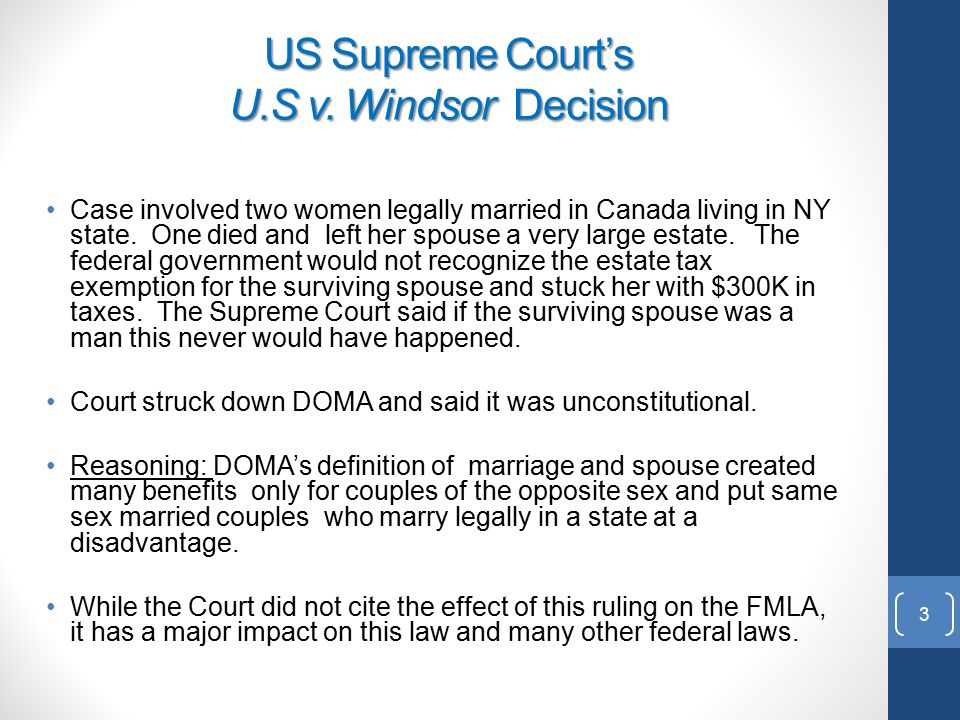 an overview of the concept of defense of marriage act Legal definition of defense of marriage act: defined the word 'marriage' for purposes of federal law as a legal union between one man and one woman.