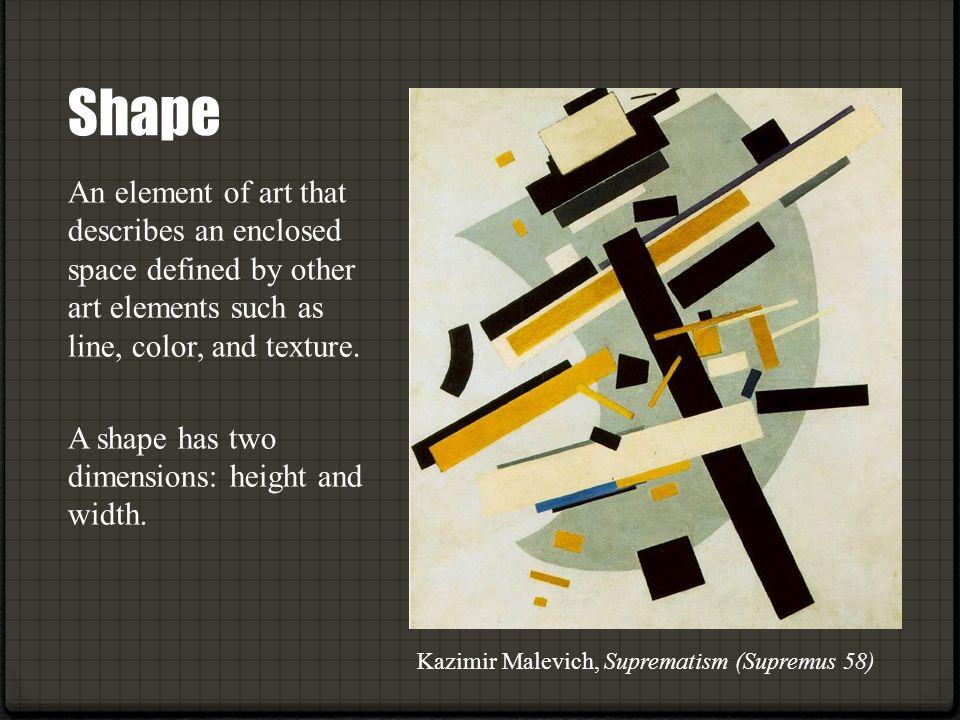 8 Art Elements : Elements of design the building blocks art and
