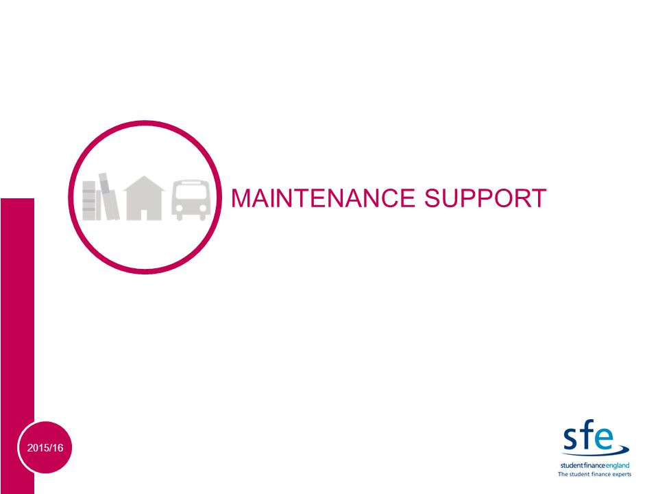 2015/16 SECTION 1 MAINTENANCE SUPPORT