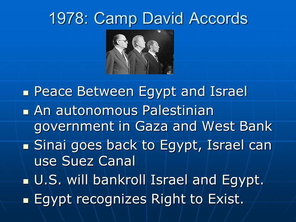 the camp david accord essay