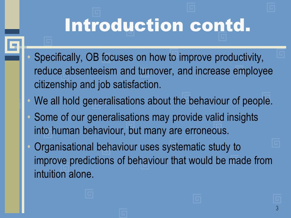 4 Introduction contd.