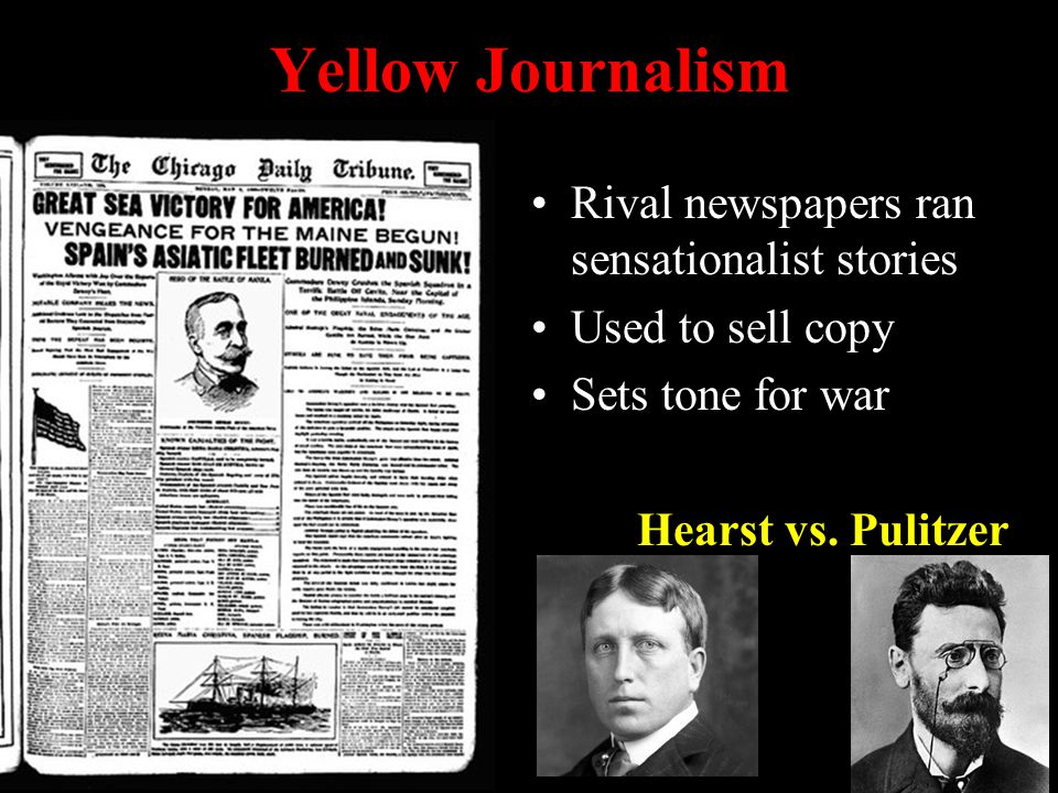 yellow journalism and the hearst newspaper