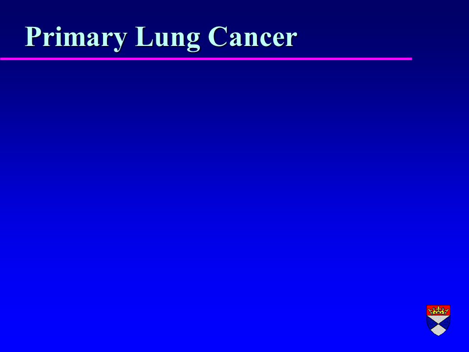 Primary Lung Cancer