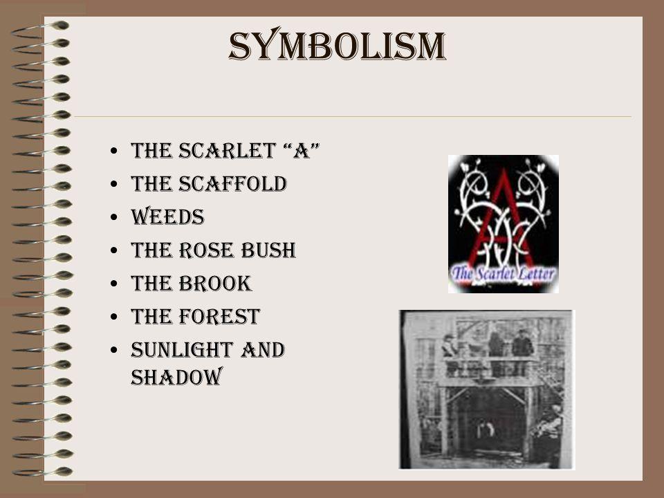 major symbol the scarlet letter itself is the central symbol