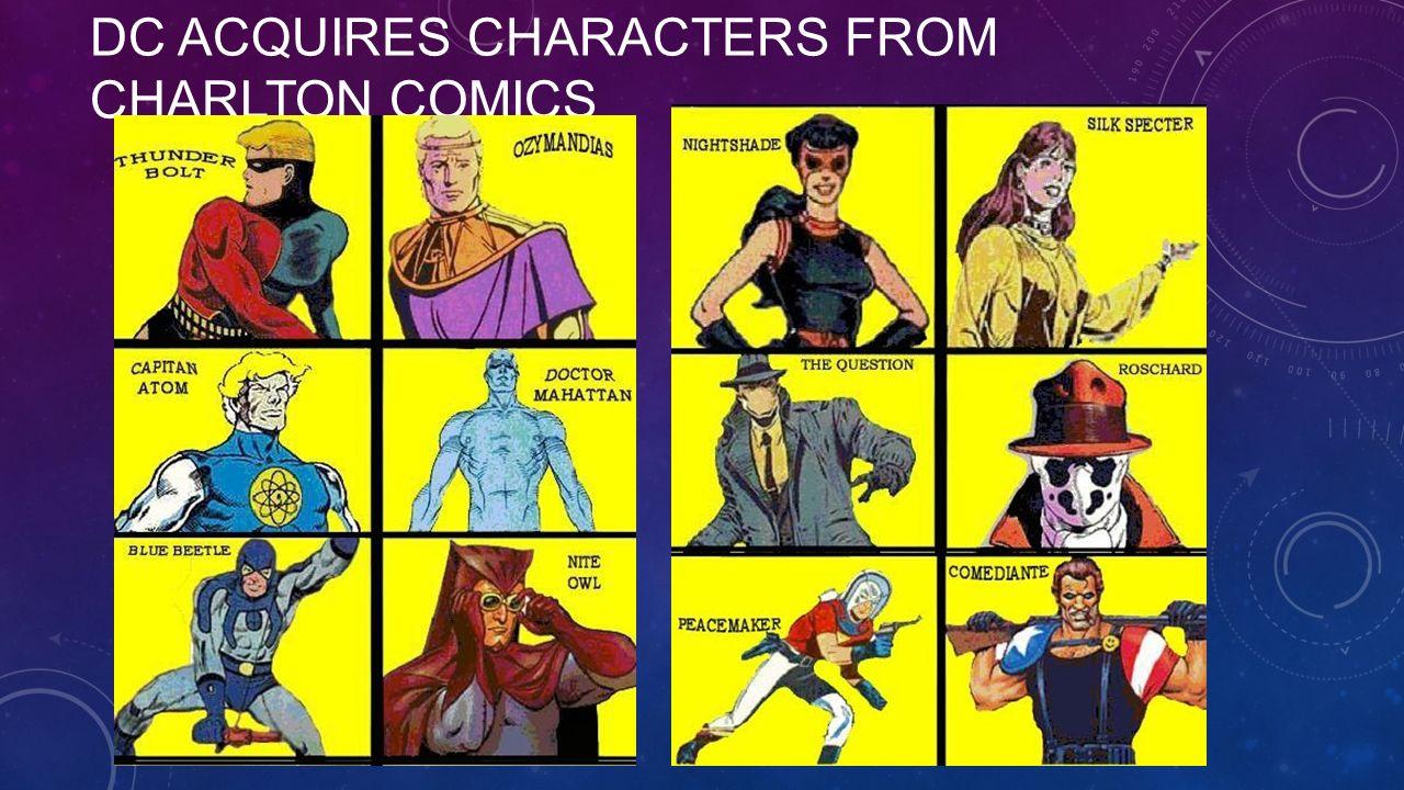 Image result for charlton comics watchmen
