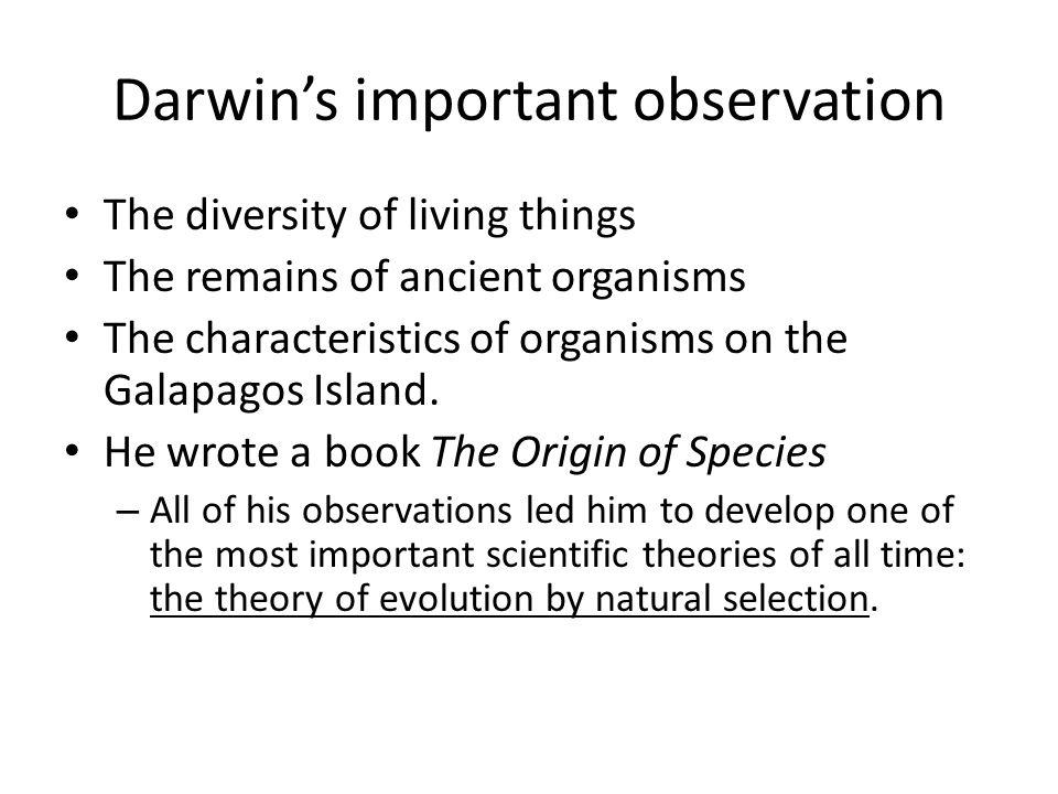 - Darwin's Theory Darwin's Voyage Charles Darwin sailed on the Beagle, from England to the Galápagos Islands.