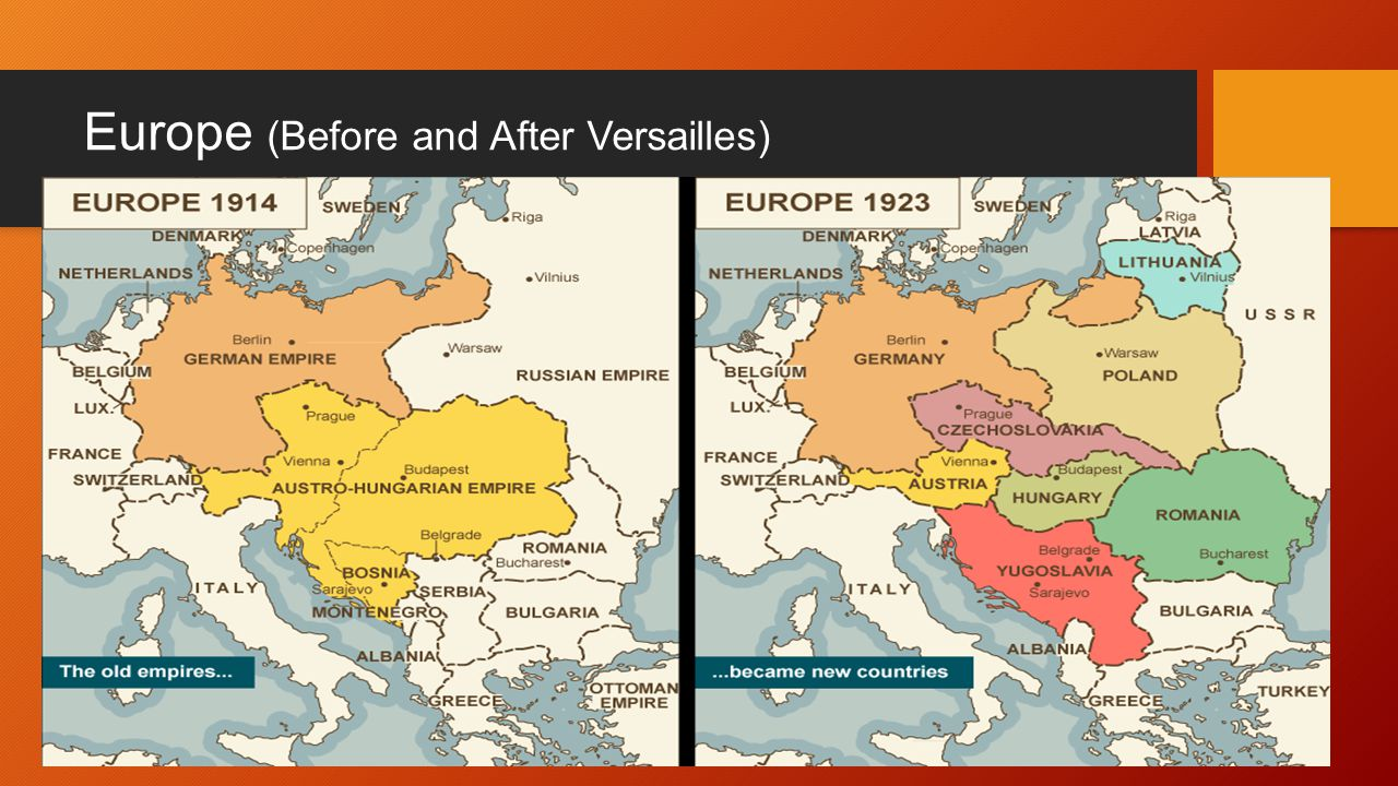 Europe (Before and After ...